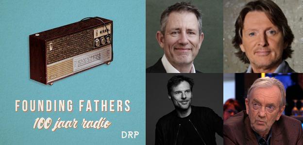 """Erik de Zwart, Ruud Hendriks en Duncan Stutterheim in podcastdocu """"Founding Fathers van de Nederlandse radio"""" - Spreekbuis.nl - Spreekbuis"""